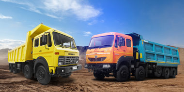 Multi-axle tippers by Tata Motors