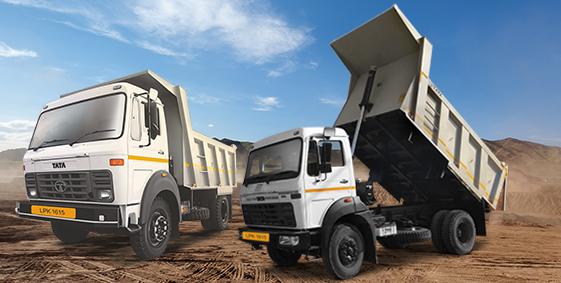 Tata LPK 2 Axle Tippers