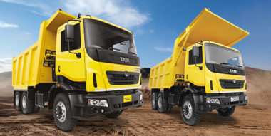 Tata's high end range of Mining & Construction trucks is earth shatteringly tough