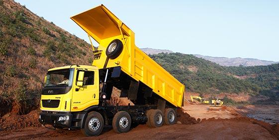 Tata Prima Trailer Truck