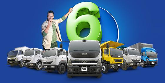 Tata Motors MHCV Trucks - Packed with The Power of 6