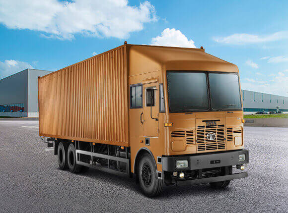Tata trucks container
