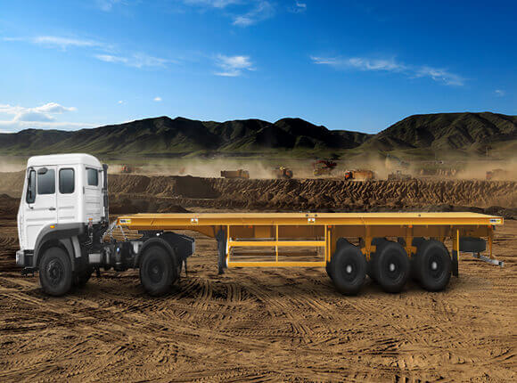 flat bed trailer gallery 3