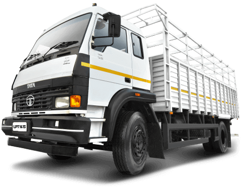 Tata White Heavy Trucks LH Side