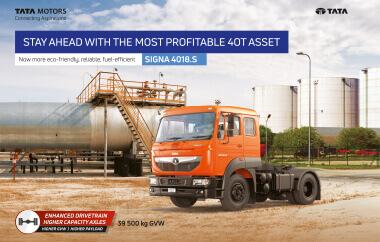 Tata Signa 4018.S Trucks Brochure
