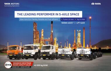 Tata Signa 4223 Trucks Brochure