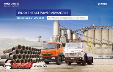 Tata Signa 4623.S Trucks Brochure