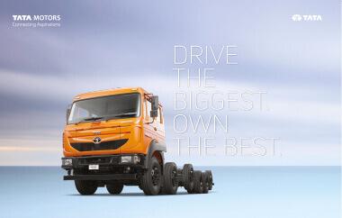 Tata Signa 4923.T Trucks Brochure
