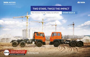 Tata Signa 5523.S Trucks Brochure