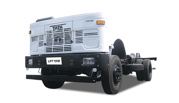 Tata Increased Axle Load Range LPT 1918 5l Turbotronn Heavy Trucks White Colour