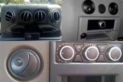 Air conditioning or truck ventilation