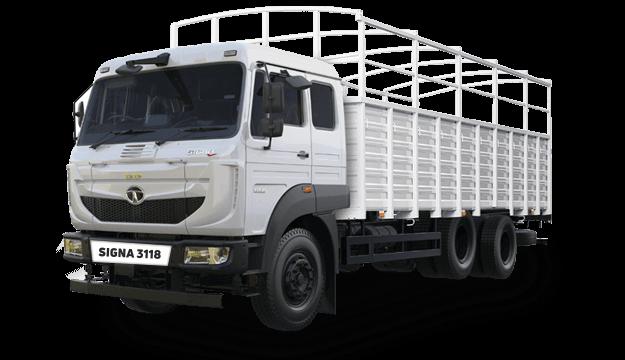 Tata Increased Axle Load Range White Colour