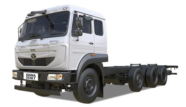 Tata Increased Axle Load Range White Colour