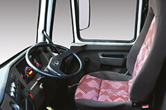 Seats with Emergency Locking Retractor