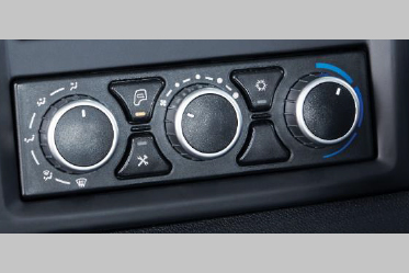 AIR CONDITIONING (in Lx variant)