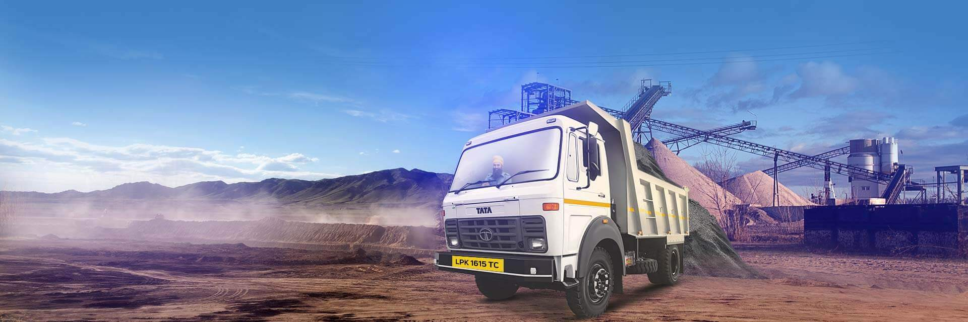 Tata LPK 1615 TC Trucks LH Side