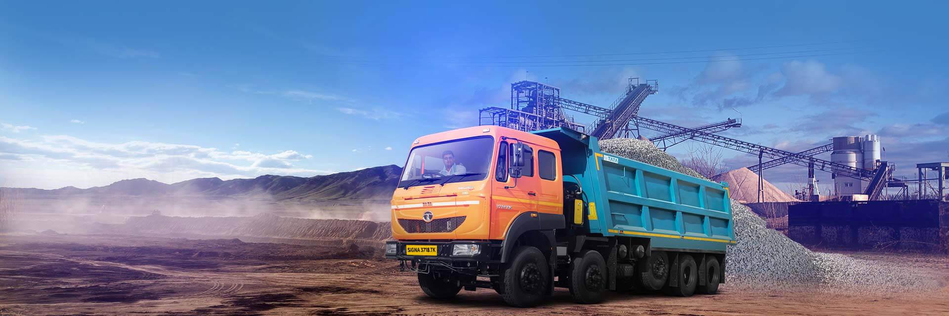 Tata Signa 3718K Trucks