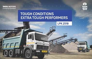 Tata LPK 2518 Trucks Brochure