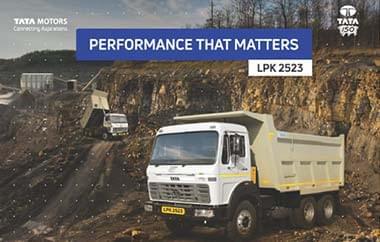 Tata LPK 2523 Trucks