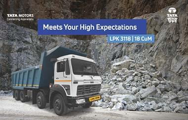 Tata LPK 3118 Brochure Tippers