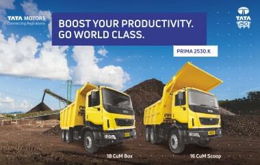 Tata Prima 2530.K Trucks