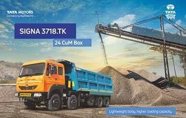 Tata Signa 3718 Trucks  Brochure