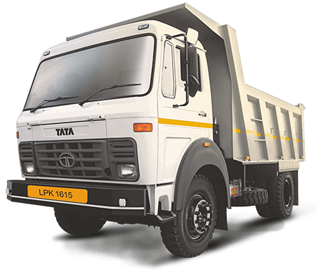 Tata Tippers LPK 1615 White Colour