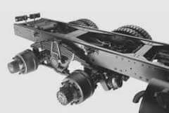 Tata LPK 2518 Axels Suspension