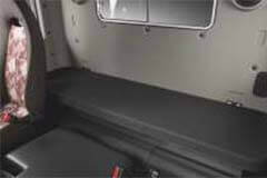 spacious sleeper cabin