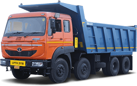 Tata LPTK 3118 Tippers LH Side