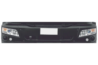 3 Piece Bumper with higher Safety