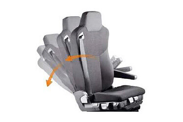 3-way adjustable seat