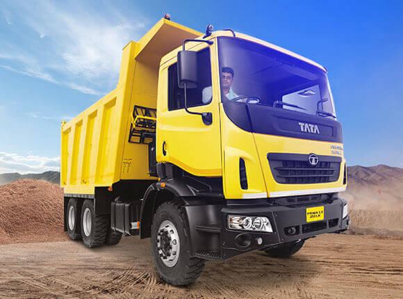 Tata Prima Lx 2525 K Tippers RH Side