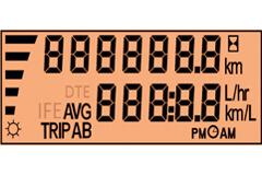 Tata Prima LX 2823.TK Tipper Truck Trip Mileage Indicator