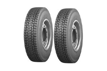 Radial Tube Tyres in front and rear
