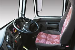 Premium interior aesthetics for superior-in-cab driving experience