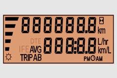 Trip Mileage Indicator