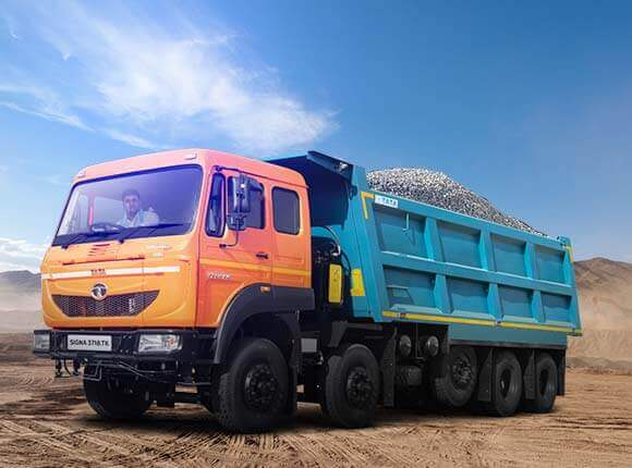 Tata Signa 3718 TK LH Side Loaded