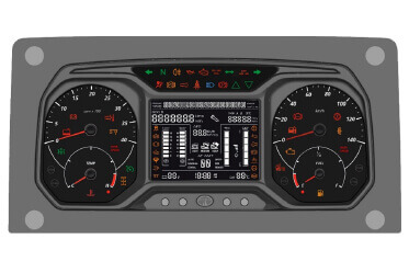 New Generation Instrument Cluster