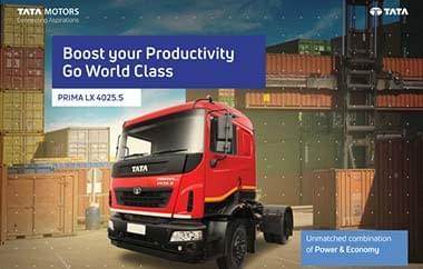 Tata Prima LX 4025.S Trucks
