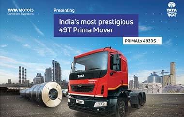Tata Prima Lx 4930 Trucks Brochure