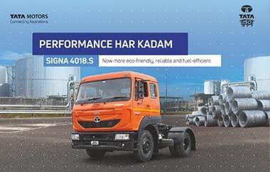 Tata Signa 4018 Tractors Brochure