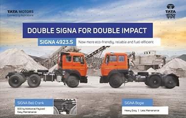Tata Signa 4923.S Trucks