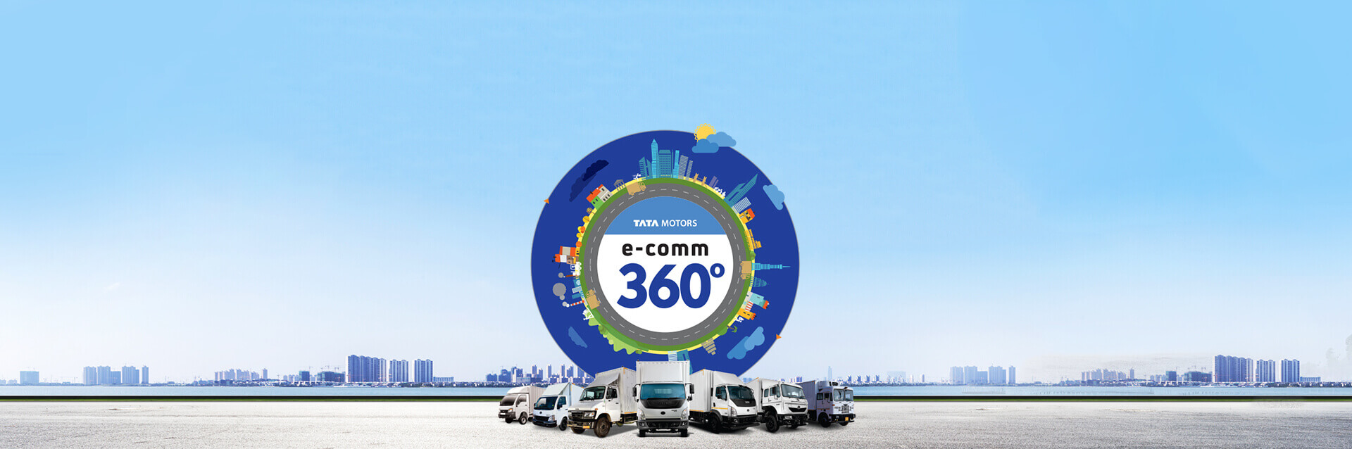 Tata Trucks Ecommerce mobile Banner