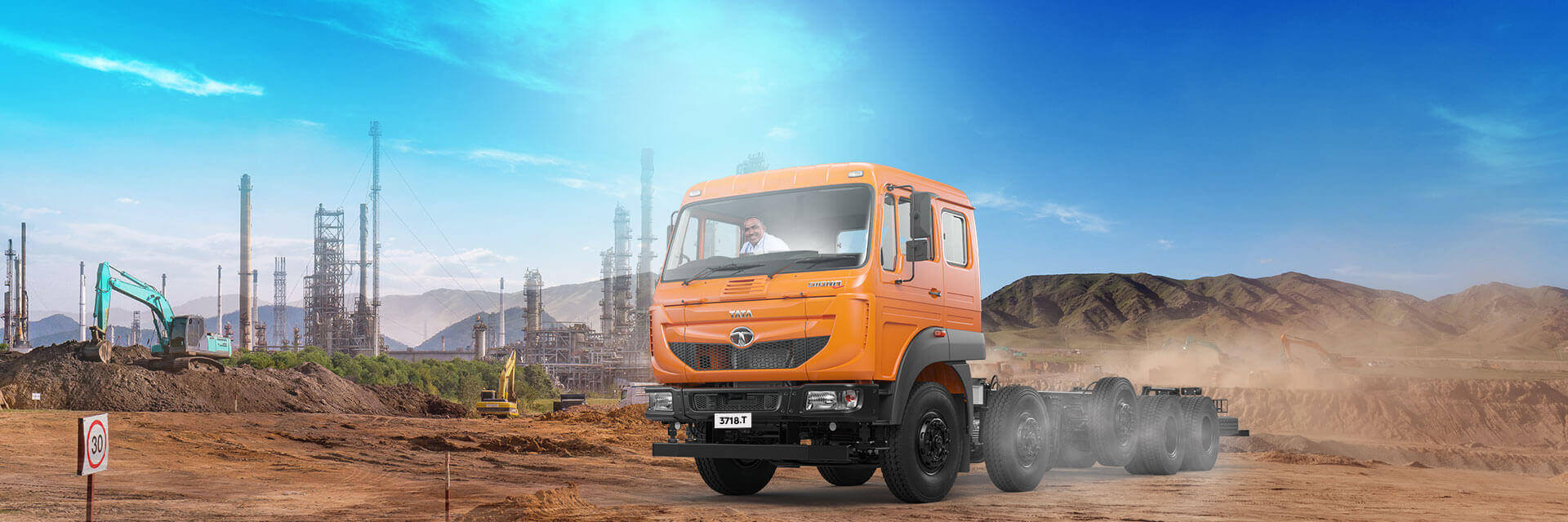 Tata Signa 3718T LH Side Chassis