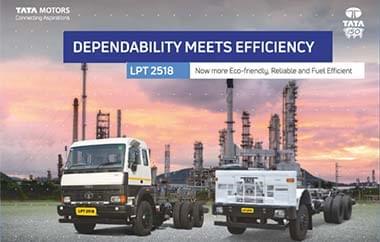 Tata LPT 2518 Trucks BSIV Brochure