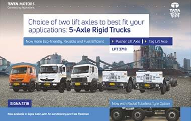 Tata signa 3718T Brochure