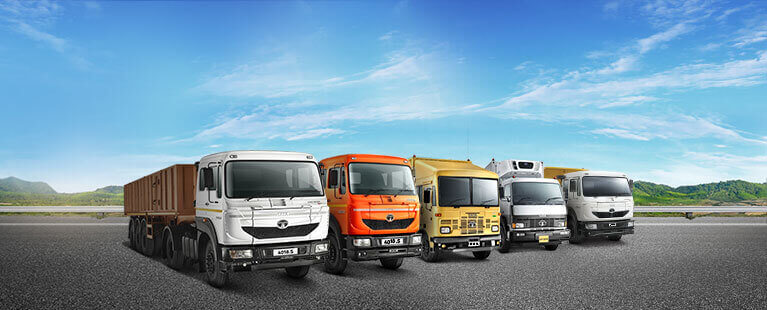 Trucks category mobile banner