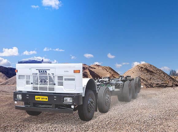 Tata LPT 3718 Trucks LH Side Chassis