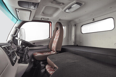 Cockpit type dual tone interiors